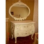 Декор мебели, ручная роспись, реставрация, винтажный декор мебели фото