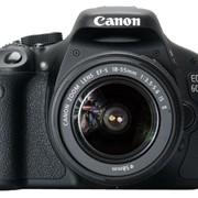 Цифровая фотокамера зеркальная Canon EOS 600D KIT 18-55, цифровые фотоаппараты в Запорожье фото