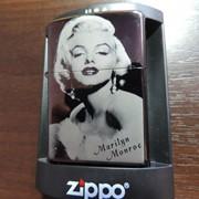 Стильная зажигалка Zippo - Marilyn Monroe фото