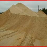 Песок строительный (карьерный) фото