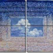 Картина модульная «Бог есть Свет Небес и Земли» фото