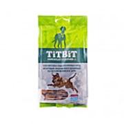 TitBit Dog Хрустящие подушечки с начинкой со вкусом ягненка и сыра лакомство для собак кр и сред пор фото