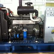Стационарный дизельный электроагрегат на открытой раме ЭДД-30-2-К фото