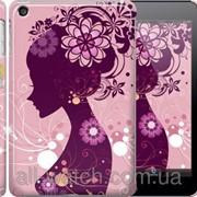 """Чехол на iPad mini 2 (Retina) Силуэт девушки """"2831c-28"""" фото"""