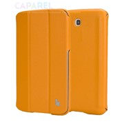 Чехлы Jisoncase Executive Yellow для Samsung Galaxy Tab 3 7.0 фото
