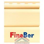 Фасадная панель Fineber Standart кремовый 0,205 х 3,66 м фото