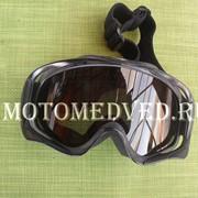 Очки тонированые для кроссового шлема фото