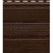 Софит коричневый с центральной фото
