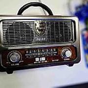 Ретро радио блютуз МП3 Meier m-111bt фото