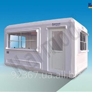 Модульный Киоск 215 см X 390 см фото
