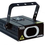 Дискотечный зеленый лазер с режимом звуковой активации и управлением DMX Koollight G-storm фото