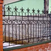 Кованый забор №3 фото