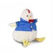 Bebelot Игрушка мягкая Bebelot Петушок в рубашке (22 см, белый) (BHO1703-381) фото