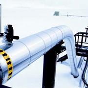 Строительства газопровода фото