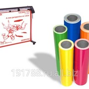 Монтаж плоттерной пленки на пластик 5-10 м2 фото