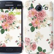 Чехол на Samsung Galaxy Core i8262 цветочные обои м1 2293c-88 фото