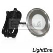 Встраиваемый светильник для пола и стен ( 0.5Вт. круглый) фото