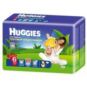 Подгузники-трусики Huggies 16-22 кг. 30 шт фото