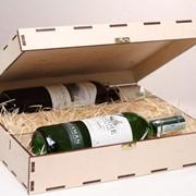Деревянная коробка, подарочная упаковка, фото