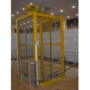 Грузовой лифт (подъемник) на 1000кг. фото