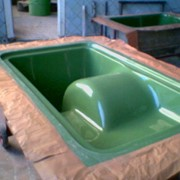 Изготовление строительных матриц из стеклопластика любой сложности и размеров, для производства изделий из бетона, балюстрад, перил, еврозаборов, вазонов, урн и т. д. фото