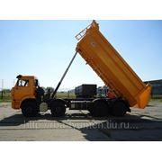 Самосвал 6551-01 овальный шасси КамАЗ-65201-1011-60 (V-22м. 24т.) фото