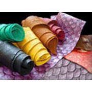 Ткани для кожгалантерейной промышленности фото