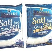 Соль пищевая морская Salero фото