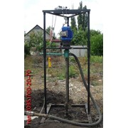 Малогабаритная буровая установка для бурения скважин на воду фото
