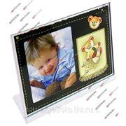 Фоторамка металлическая, рамка для фото 10х15, ПИПИТР GF 2296 фото