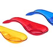 Подставка под ложку пластик (цвет в ассортименте) фото