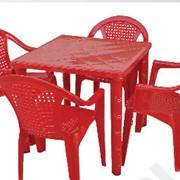 Столы из пластмассы цветные фото