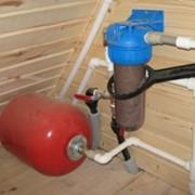 Монтаж систем водоснабжения в Алматы фото