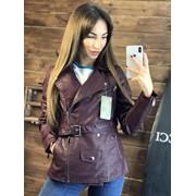 Женская стильная курточка-косуха-трансформер, в расцветках фото