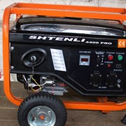 Бензогенератор Shtenli Pro S 4400, 4 кВт с электростартером фото