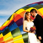 Признание в любви на воздушном шаре фото