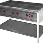 Плита электрическая ПЭ-6 шестиконфорочная без жарочного шкафа фото