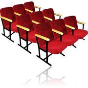Кресло трехместное для актового зала фото