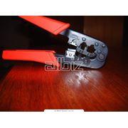 Инструмент для опрессовки кабеля фото