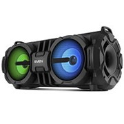 Колонка портативная Sven PS-485, 28 Вт, Bluetooth, FM, USB, microSD, LED-дисплей, микрофонный вход фото