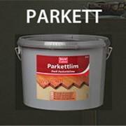 Клей для наклеивания мозаичного и елочного паркета PARKETT фото