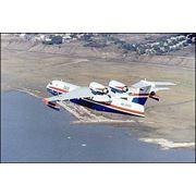 Самолет-амфибия поисково-спасательный Бе-200 фото