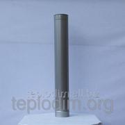 Труба 1 м 0,8мм ф 150 м из нержавеющей стали фото