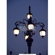 Уличный фонарь фото