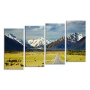 Картина Дорога в Новой Зеландии фото