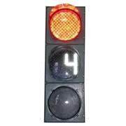 Светофоры дорожные светодиодные с обратным отсчетом времени фото