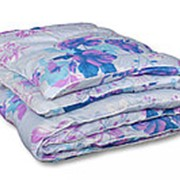 Одеяло из овечьей шерсти Комфорт двуспальное теплое фото