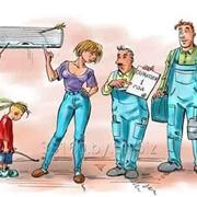 Монтаж и обслуживание кондиционеров воздуха фото