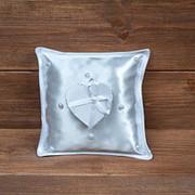 Свадебная подушечка с коробочкой, арт. CR-101 фото