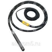 Вибратор погружной высокочастотный IREN 38/250 GV резиновый наконечник фото